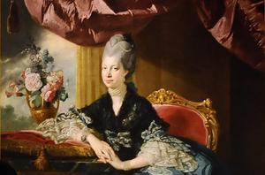 Queen Charlotte, painted by Johan Zoffany (PA)