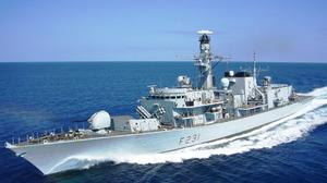 Type 23 frigate HMS Argyll took part in the operation (Royal Navy/MoD Crown Copyright/PA)