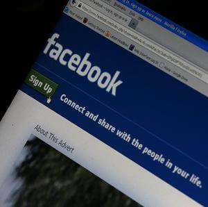Facebook can target adverts at users according to their individual interests