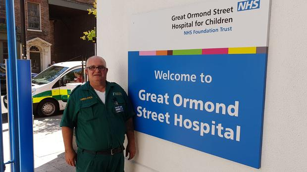 Charlie Goodwin, a paramedic of two decades, who died with coronavirus on April 20 (Daniel and Julie Goodwin/PA)