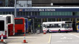 Greens want the forthcoming Transport Bill to include a target to reverse the decline in bus journeys (Danny Lawson/PA)