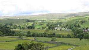 Upper Teesdale from Holwick is part of the landscape covered by the £8.5m programme (North Pennines AONB Partnership/PA)