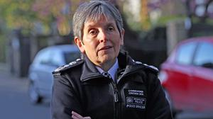 Cressida Dick said officers will deal with coronavirus-related incidents 'very firmly' (Yui Mok/PA)
