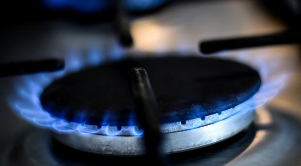 A generic stock image of a gas ring on a home cooker in London (PA)