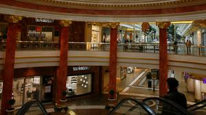 A general view of the inside of Manchester's Trafford Centre (Peter Byrne/PA)