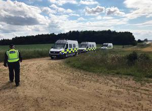 Police have arrested five people (Norfolk Constabulary/PA)