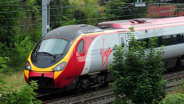 Virgin Trains customers are now able to buy rail tickets using Amazon Alexa (Rui Vieira/PA)