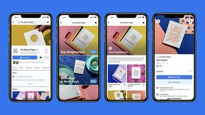Facebook Shops will enable users to create and customise a page for their business (Facebook)