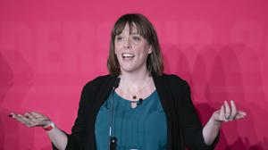 Jess Phillips during the Labour leadership hustings (Danny Lawson/PA)