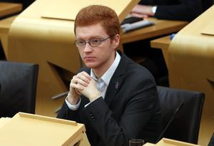 Ross Greer asked about the circumstances in which an SQA statistician resigned (Jane Barlow/PA)