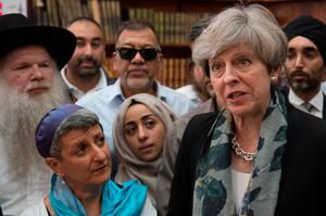 Theresa May at Finsbury Park Mosque