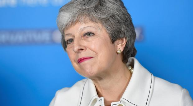 Prime Minister Theresa May is still pushing for support for her Withdrawal Agreement (Toby Melville/PA)