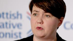 Former Scottish Conservative leader Ruth Davidson is now heading for the House of Lords (Jane Barlow/PA)