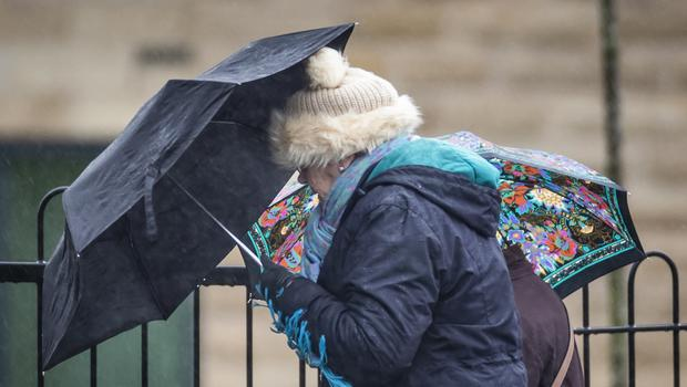 Storm Ciara is set to batter the UK with heavy rain and gales this weekend (Danny Lawson/PA)