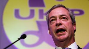 Ukip leader Nigel Farage said he would bar EU citizens from voting in a referendum on Britain's future in Europe