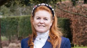 Sarah, Duchess of York promoting her Mills and Boon romance book (HarperCollins/PA)