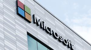 Microsoft's new offices at South County Business Park in Leopardstown, South Dublin.