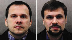 The two suspects in the Salisbury nerve agent attack (Met Police/PA)