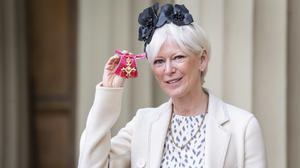 Joanna Coles with her OBE for services to journalism and the media industry (Victoria Jones/PA)