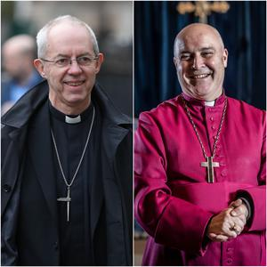 The Archbishops of Canterbury and York (PA)