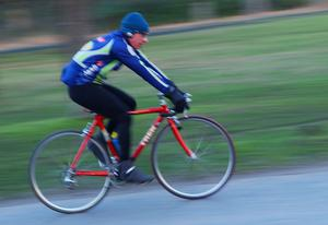 Exercise such as cycling could be as good as drugs in lowering high blood pressure (Fiona Hanson/PA)
