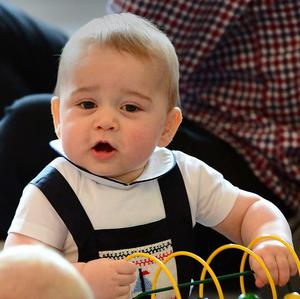 Prince George has received a series of matrimonial offers while in New Zealand, his father has joked