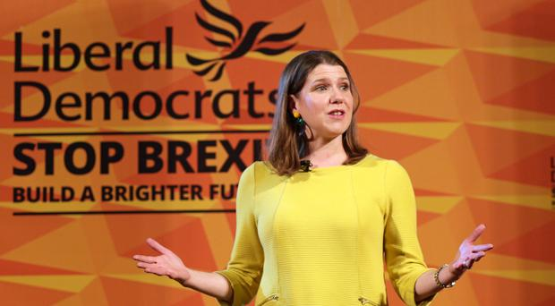 The Liberal Democrat leader began this campaign saying she was a candidate for Prime Minister (David Cheskin/PA)