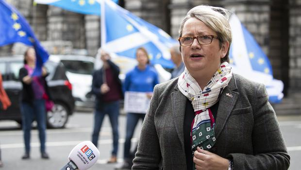 SNP MP Joanna Cherry has led legal action against the Prime Minister in a bid to avoid a no-deal Brexit (Jane Barlow/PA)