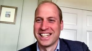 The Duke of Cambridge on a video call with Scottish charities (Kensington Palace/PA)