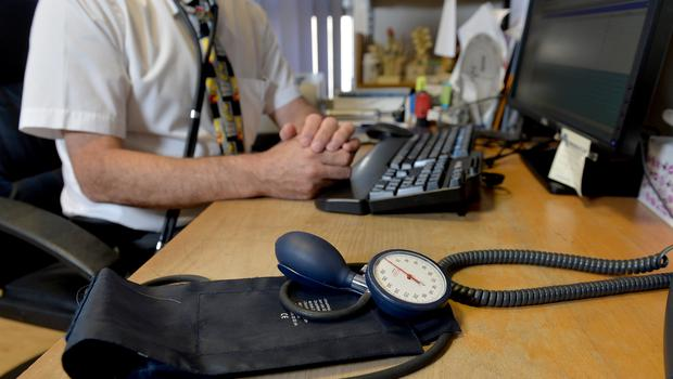 The number of notes issued by doctors saying someone is not fit to work due to stress-related disorders increased last year (PA)