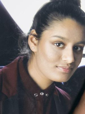 Shamima Begum, who fled London for Syria in 2015, has been stripped of her British citizenship (PA)