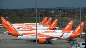 EasyJet is among the three airlines taking legal action against the Government (Nick Ansell/PA)