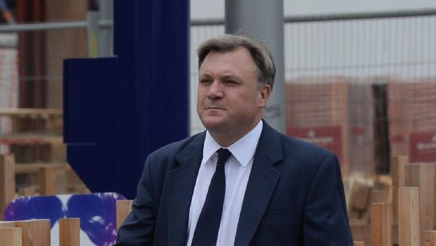 Ed Balls did not put a figure on the number of officials he wants to move out of the capital