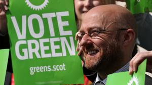 Scottish Greens co-convener Patrick Harvie will speak at his party's conference on Saturday (Andrew Milligan/PA)