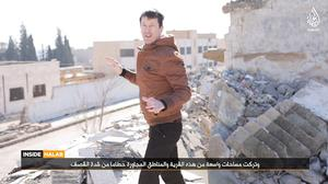 John Cantlie has appeared in several Islamic State propoganda videos