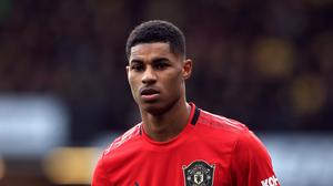 Marcus Rashford criticised MP Kevin Hollirake (Mike Egerton/PA)