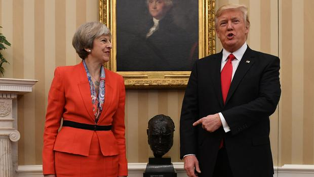 Donald Trump will hold talks with Theresa May on Friday, July 13 (Stefan Rousseau/PA)