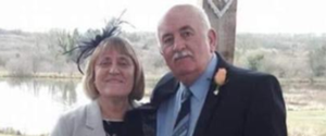 Mrs Bamford's death follows that of her husband, Malcolm, who also died after testing positive for the virus. (PA)