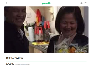 A fundraiser has been set up in memory of Ate Wilma Banaag.