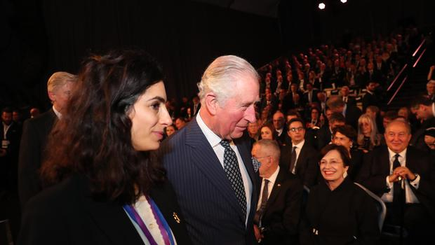 The Prince of Wales arriving to attend the World Holocaust Forum at Yad Vashem, the World Holocaust Remembrance Centre in Jerusalem (Government Press Office/PA)