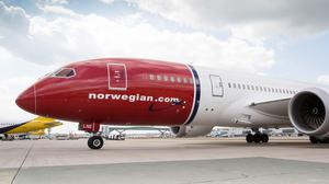 Norwegian is rolling out free wi-fi on long-haul flights (Norwegian/PA)