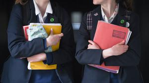 The Government wants secondary schools and colleges to provide 'some face-to-face support' to Year 10 and 12 pupils from Monday (Ben Birchall/PA)