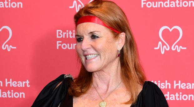 The Duchess of York attends the British Heart Foundation's Heart Hero Awards at the Globe Theatre in London (Ian West/PA Wire)