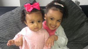 Doctors thought Felicity Edgar (right) would never walk. She is pictured here with her sister Kalila Edgar (Family Handout/PA)