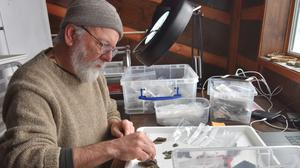Dr Rick Knecht has been in the small Alaskan village since October (University of Aberdeen/PA)