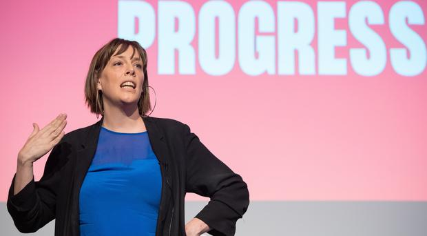 Jess Phillips has vowed to speak 'plainly' if elected Labour leader (Dominic Lipinski/PA)