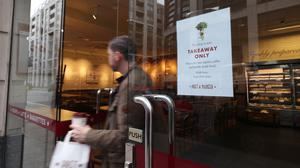 Pret has reopened its doors and revealed it will now sell coffee via Amazon (Yui Mok/PA)
