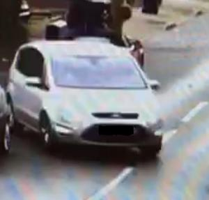 The car driven by the suspect in the abduction and rape of two women on Thursday (Metropolitan Police/PA)
