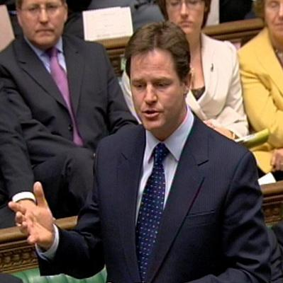 Liberal Democrat leader Nick Clegg will accuse David Cameron and Ed Miliband over Europe