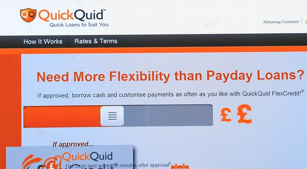 QuickQuid was one of the biggest payday lenders on the UK market (Rui Vieira/PA)